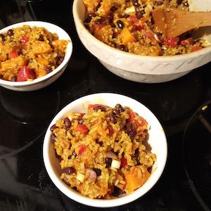 Caribbean Rice Salad. So good.