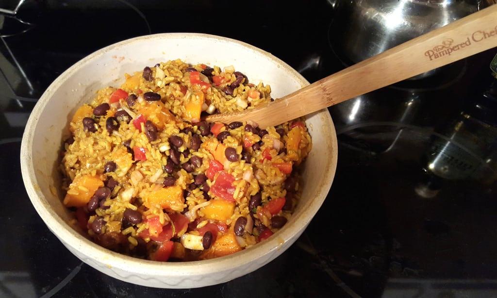 Caribbean Rice Salad. Photo courtesy of Apryl Donovan.