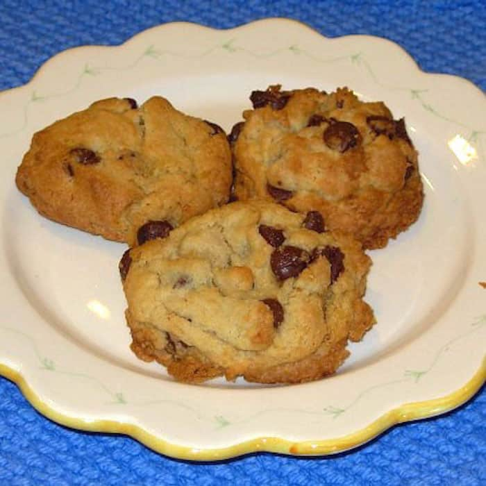 My Best Chocolate Chip Cookies Made with Wheat Flour