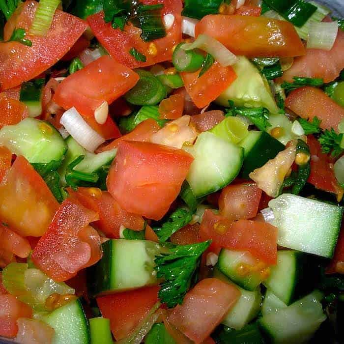 Easy peasy Cucumber Salsa