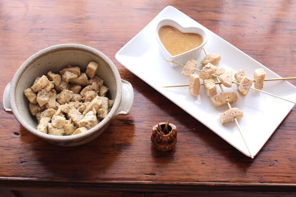 Chicken Kabobs—Kid Friendly, Easy Appetizer
