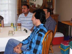 International guests: Kosim (Azerbaijan), Rafak (Iraq) and Samim (Afghanistan).