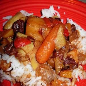 Spicy Vegetarian Stew (Slow Cooker)