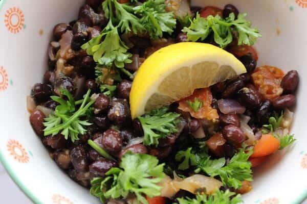 Middle Eastern Black Bean Ful, only the most flavorful bean dish you can eat. #middleeasternblackbeanful, #blackbeanful, #recipeideashop