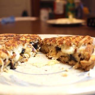 Portabella Reuben Sandwich