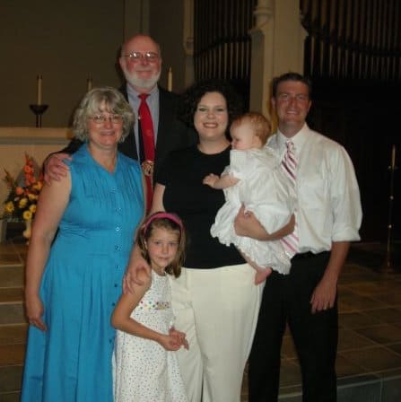 Here I am in 2008 (in blue), a whopping 187 pounds before I healed myself with food.