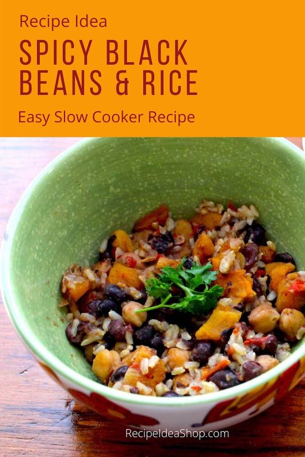 Slow Cooker Spicy Black Beans and Apricots. African Soul Food. #slowcookerblackbeans #blackbeansandapricots #africansoulfood #soulfood #vegan #slowcooker #comfortfood #recipes #recipeideashop