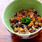 Doesn't this Spicy Black Beans and Apricots look amazing?