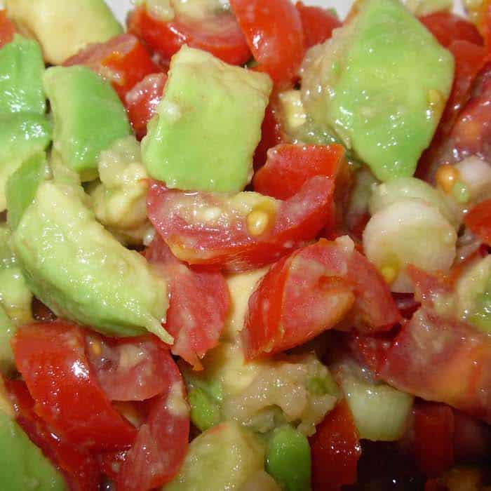Avocado Tomato Salsa, creamy culinary delight