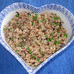 Tarragon Rice Pilaf satisfies.