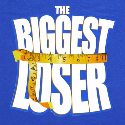 Losing weight is the subject of The Biggest Loser