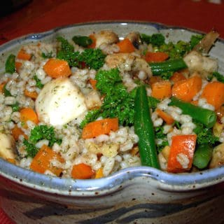 French Barley Salad