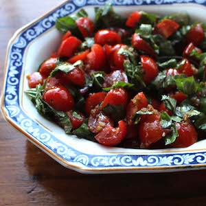 Tomato Basil Chutney