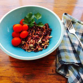 Black and Brown Rice Salad