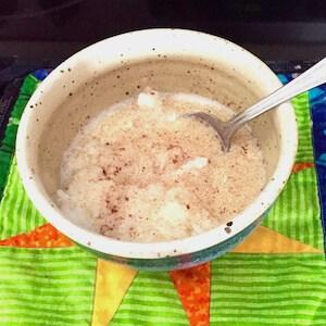 Cinnamon-Sugar Rice