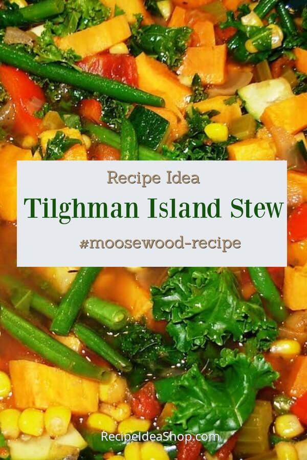 Moosewood's Tilghman Island Stew is something to rave about. Vegan. Amazing. #tilghman-island-stew #tilghmanislandstew #moosewood #vegan #vegetarian #glutenfree #dairyfree #recipes #slowcooker #recipeideashop