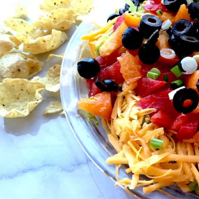 An oldie, but goodie recipe: Mexican Layered Dip