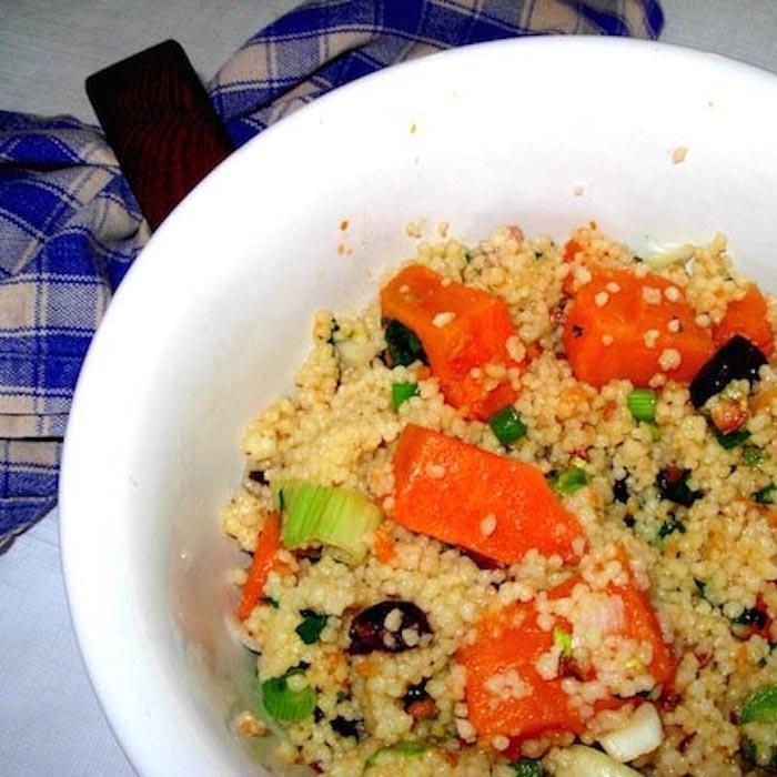 Try this Couscous Fruit Salad. It's good!