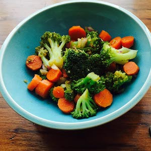Broccoli Carrot Salad, a Moosewood Recipe