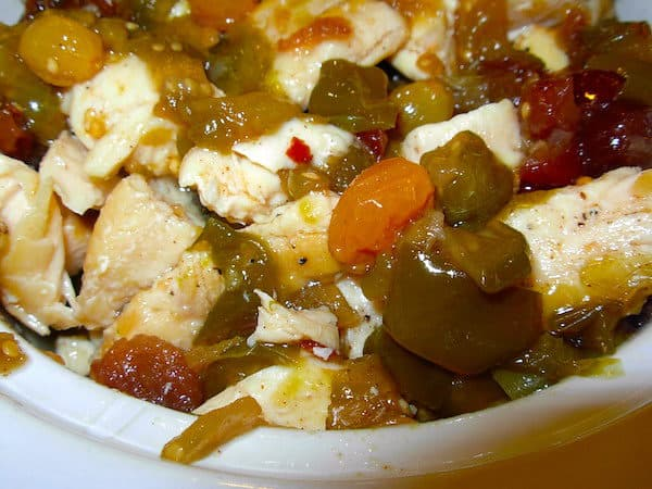 Tomatillo Chutney is terrific with chicken, pork, fish or rice.