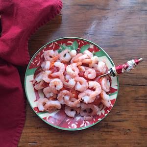 Easy Peasy Shrimp with Cream Cheese