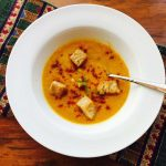 Can you believe this creamy Carrot Cauliflower Soup is vegan and gluten free? And so, so good.