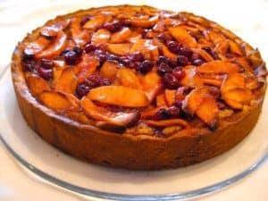 Apple Cranberry Tart