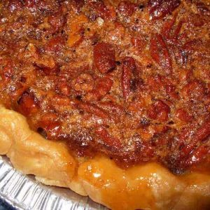 Pecan Pie is a favorite for Thanksgiving.