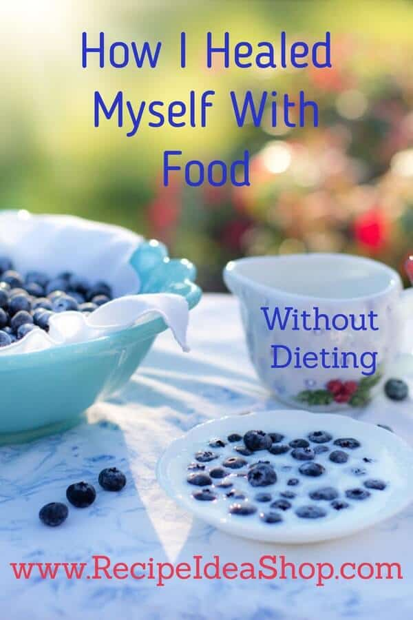 How I Healed Myself With Food (without dieting). #healyourgut #loseweightwithoutdieting #reduceinflammation