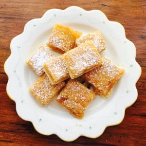 Momma Betty's Lemon Squares (Gluten Free) are tangy and delicious.
