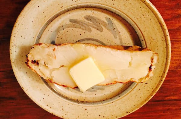 Baked Potato (Idaho) with Butter