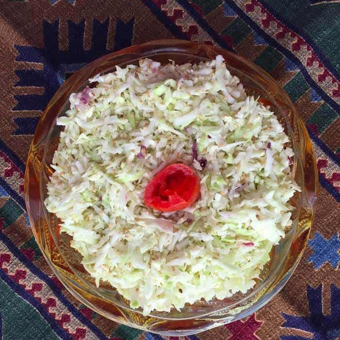 South Beach Cabbage Salad