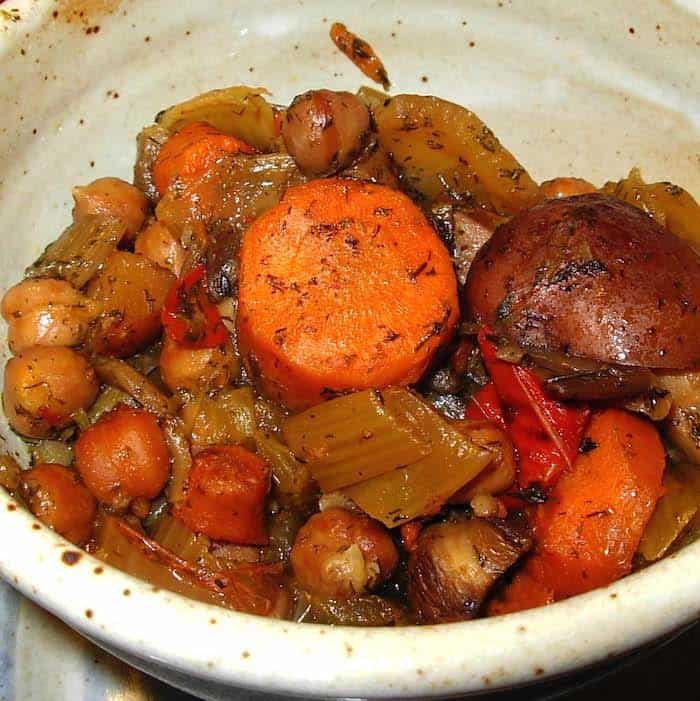 Slow Cooker Vegetable Dill Stew