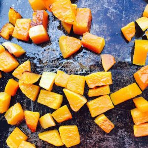Roasted Butternut Squash—easy peasy.
