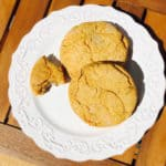Such a tasty Gluten Free Sweet Potato Biscuit; it's hard to stop at one.