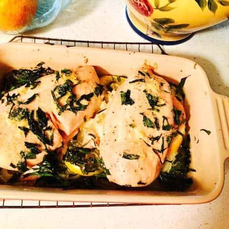 Easy Lemon Chicken with Tarragon.