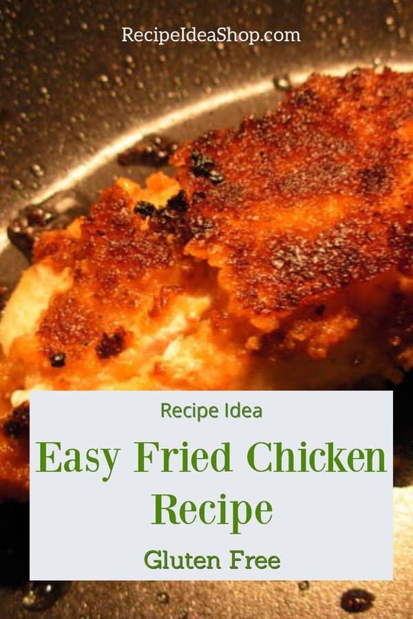 Truly Easy Fried Chicken. 30-minute recipe. #easyfriedchicken #northern-girl #friedchicken #easyrecipes #30minuterecipes #comfortfood #recipes #chickenrecipes #recipeideashop