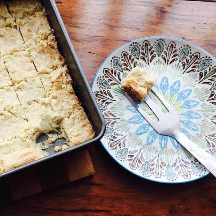 Gluten Free Shortbread Cookies are so simple. And tasty!