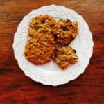 GF Cookies 4 Ways: Gluten Free Peanut Butter Chocolate Chip Cookies