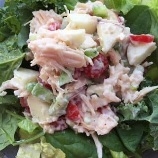Apple Tomato Chicken Salad