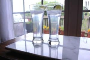 Gin and Tonic, tasty summer drink.