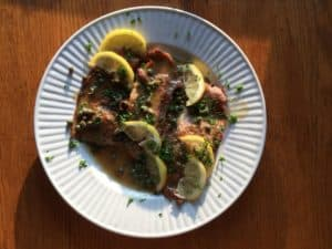 30-MInute Veal Piccata. Easy peasy and super good.