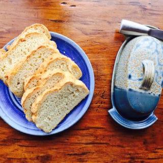 Gluten Free White Bread has the texture and taste of regular white bread!