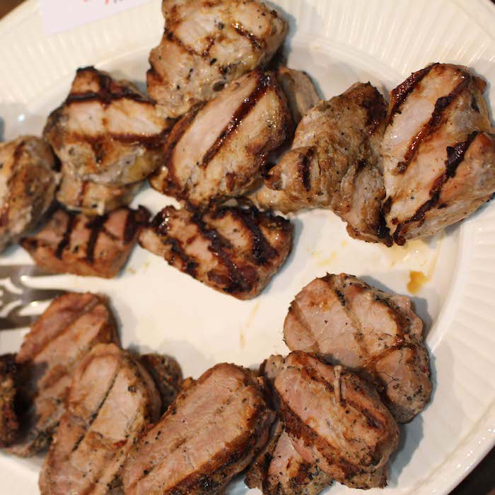 Grilled Pork Tenders are aptly named because they are so tender.