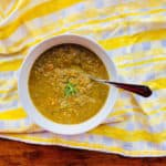 Sweet Lentil Soup