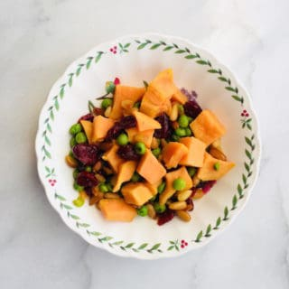 Sweet Potato Pine Nut Salad