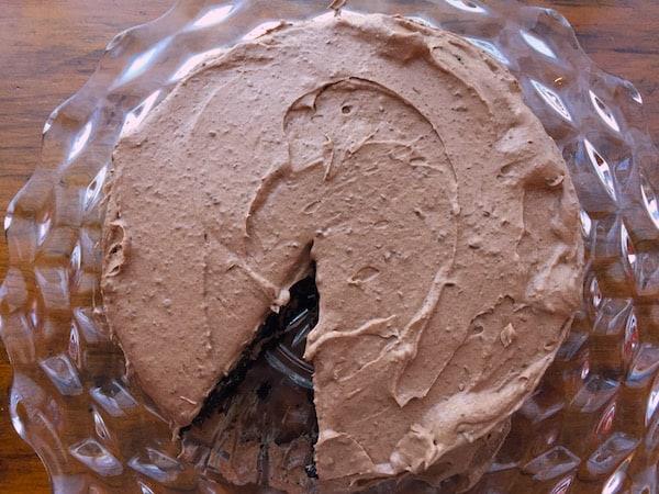 Flourless Gluten Free Chocolate Chocolate Cake