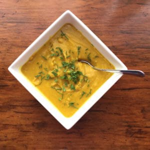 Indian Pumpkin Soup