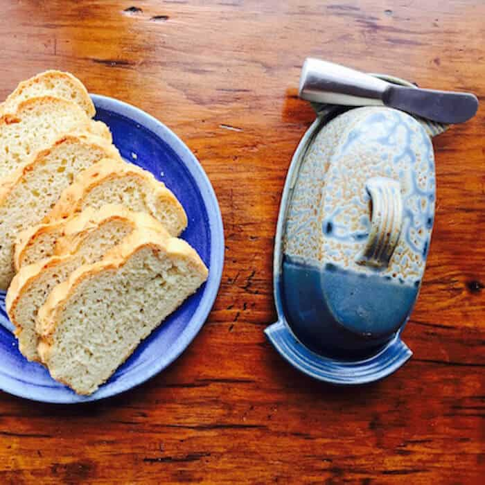 Gluten Free Dairy Free White Bread has the texture and taste of regular white bread!