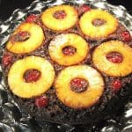 Pineapple Upside Down Cake made with Gingerbread!